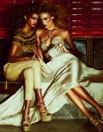 Barbara de Creddo & Tsanna by Andrew Yee for How to Spend It Summer 2011, Seventies Revival 05