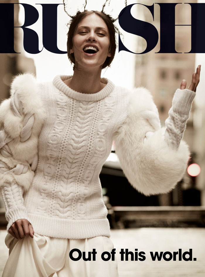 Aymeline Valade by Will Davidson for Russh #41 Cover