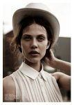 Aymeline Valade by Will Davidson for Russh #41, Nowhere Else! 08