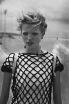 Daphne Groeneveld by Peter Lindbergh for Numéro #126, L'ange 07