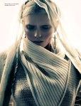 Abbey Lee Kershaw by Sebastian Kim for Numéro #126, Madone 04