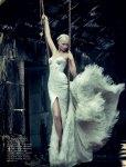 Abbey Lee Kershaw by Sebastian Kim for Numéro #126, Madone 07