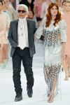 Chanel Spring 2012 84 Karl Lagerfeld + Florence Welch