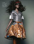 Nyasha Matohondze by Solve Sundsbo for Vogue Japan November 2011, Movement and Shape 08