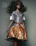 Nyasha Matohondze by Solve Sundsbo for Vogue Japan November 2011, Movement and Shape 08