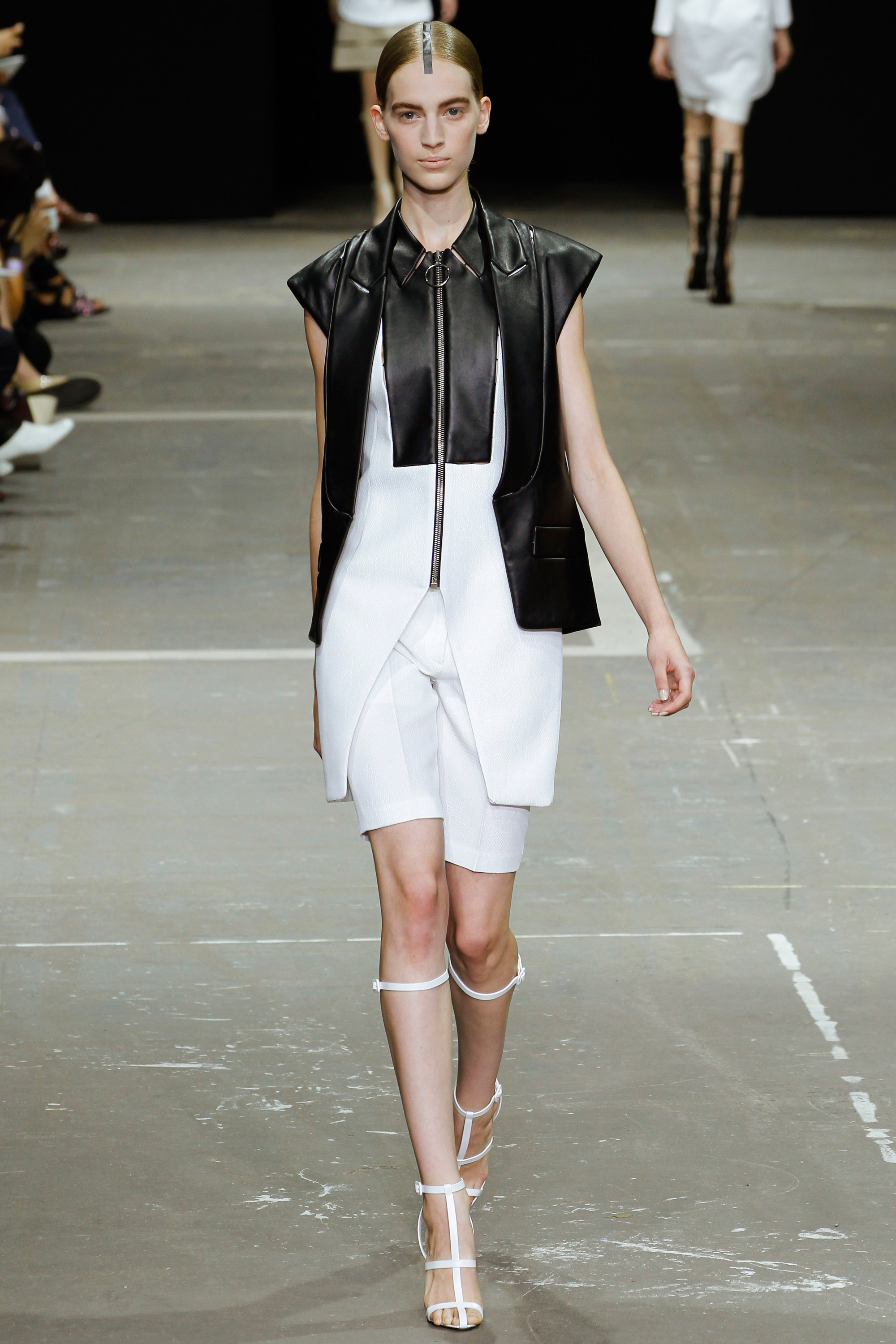 alexander wang, spring, trend, black and white, 2013