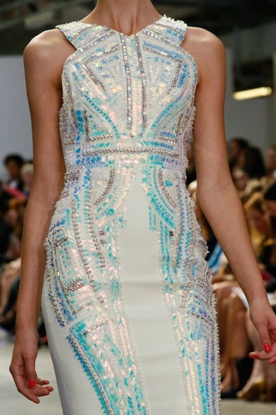Antonio Berardi Spring 2013 31 close-up