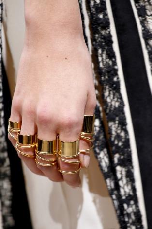 Balenciaga Spring 2013 30 rings